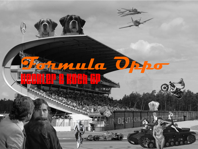 Formula Oppo: The Heckler & Koch Grand Prix of The Failed Reich