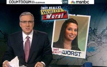 Bristol Palin Feuds With Keith Olbermann