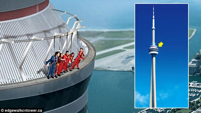 Tourists Can Now Dangle Precariously From CN Tower