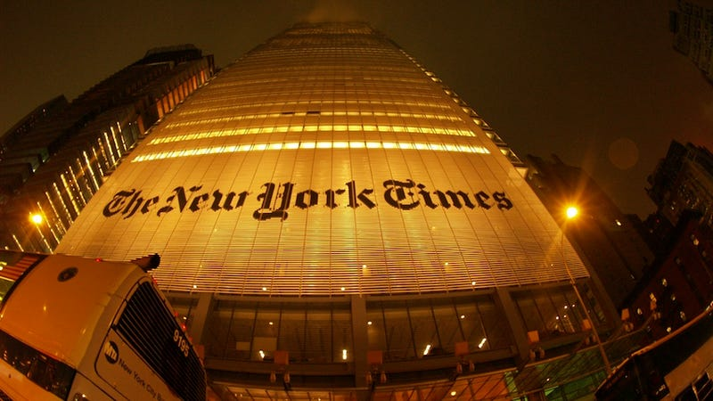How the New York Times Is Still Publishing Despite Being Hacked (Updated)