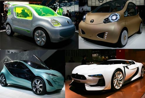 The Ten Craziest Concepts From The 2008 Paris Auto Show