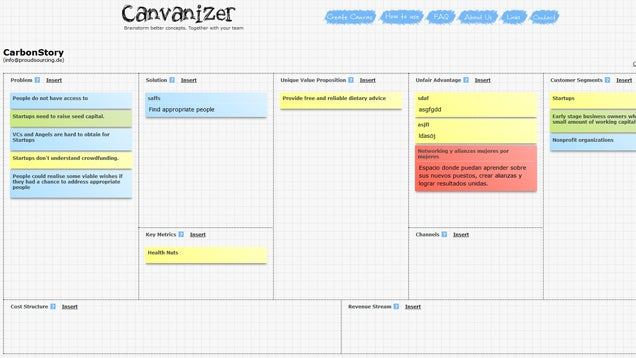 Canvanizer Offers Collaborative Brainstorming Via Digital Post-Its