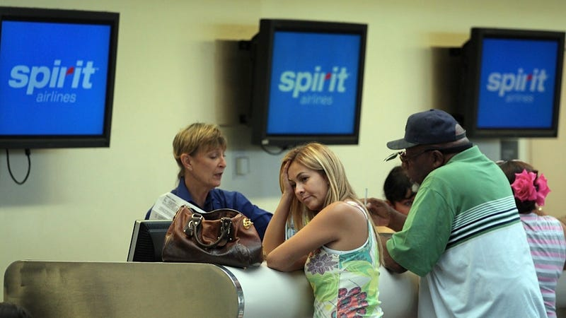 Spirit Airlines Is a Sore Winner About Making the Sweet 16 in the Consumerist's 'Worst Company in America' Bracket