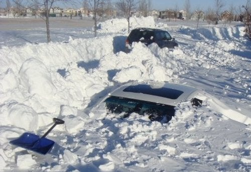 BMW Buried In Snow: Reason #544 To Avoid Canada
