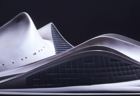 Zaha Hadid's Dubai Opera House Design Makes Me See Cylon Raiders
