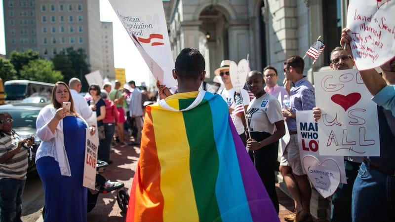 Federal Judge Pulls a Utah, Puts Wisconsin Gay Marriage Ruling on Hold
