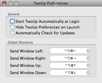 TwoUp Makes Better Use of Your Screen Real Estate
