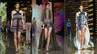Milan Fashion Week: Just Cavalli Is Just Hideous