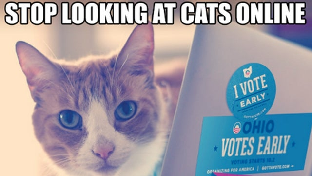 I Can Has Four More Years?: The Obama Campaign Turns to Lolcats to Get Out the Vote