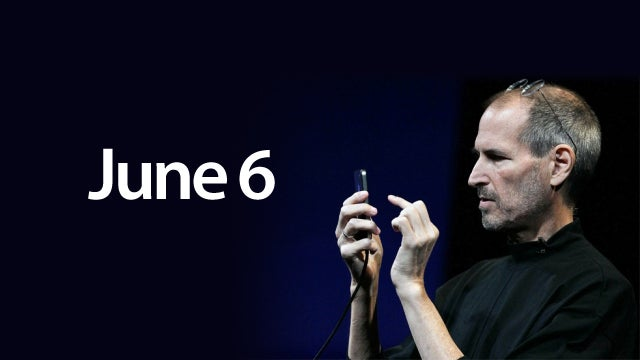 iPhone 5 Most Probable Intro Day: June 6, WWDC2011