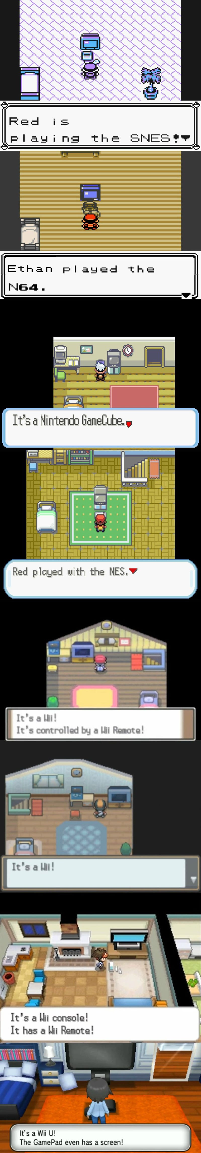 All The Nintendo Consoles In Pokémon Games Over The Years