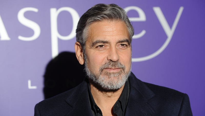 George Clooney Joked About Ironing His Balls and Now It's a Real Thing