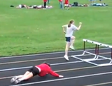 The Most Intensely Horrible High School Girls' Hurdles Race You'll Ever See