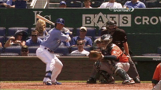 Norichika Aoki Ends Up In A Heap With The Worst Swing This Season