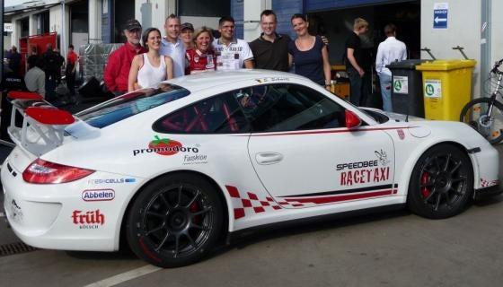 Sabine Schmitz returns with Porsche 911 GT3 Ring Taxi