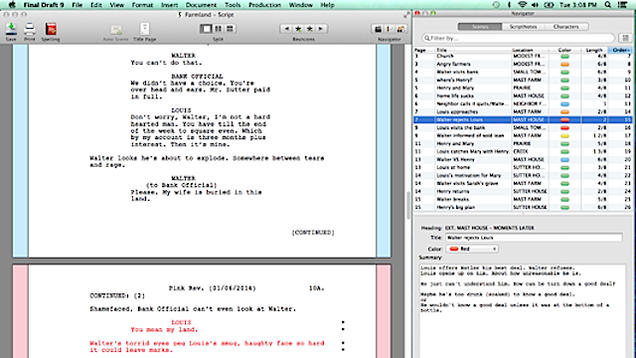 thesis writing software for mac