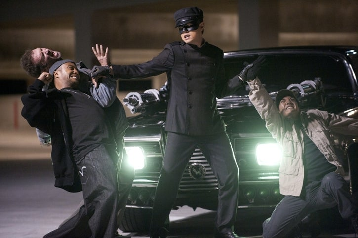 The Green Hornet is the rare stoner superhero movie that you can enjoy sober