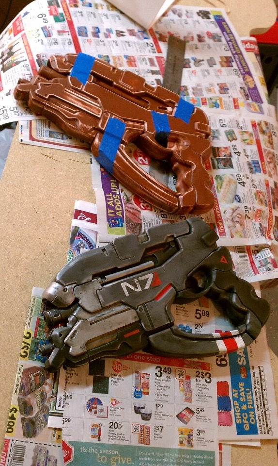 The Amazing, Exploded Mass Effect 3 N7 Pistol