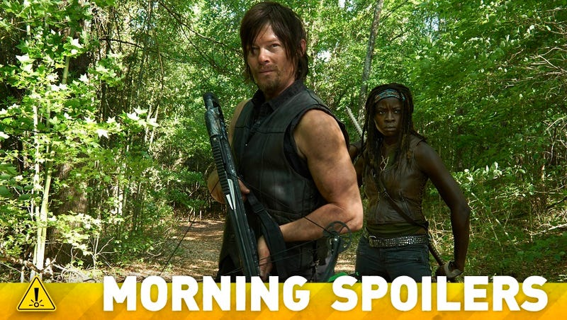 Could we be seeing a Rick-Michonne romance on Walking Dead?