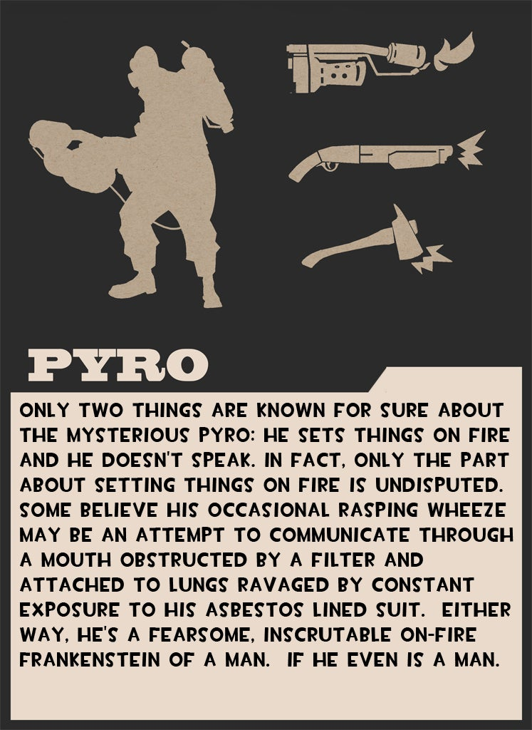 Valve Taunts Us With Pyro Card