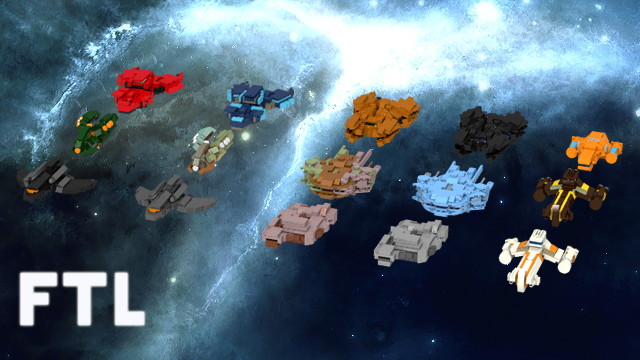 LEGO FTL Ships Will Probably Try And Kill You Unexpectedly