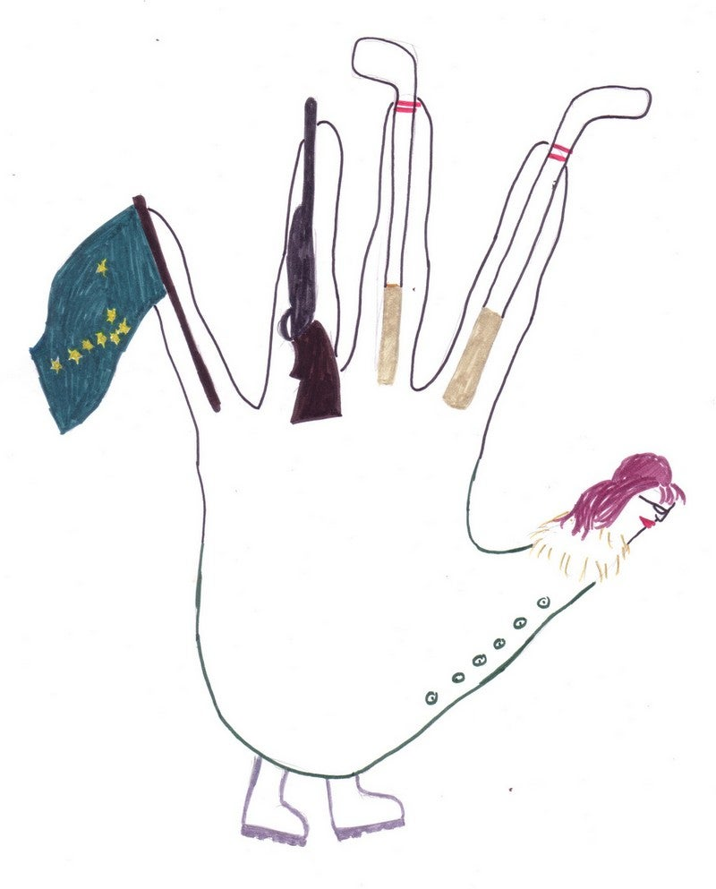 Gobble, Gobble, Toil And Trouble: 4 Celebrity Hand Turkeys