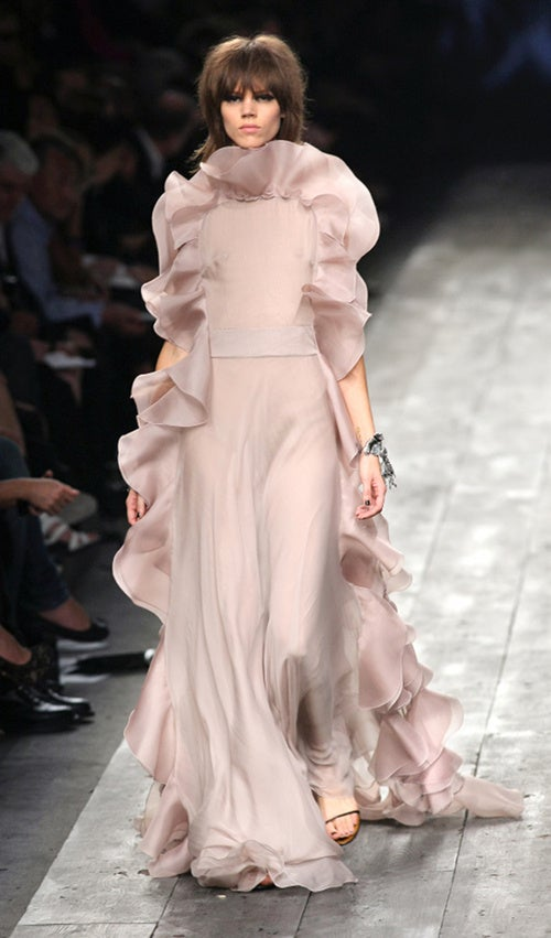 Breast Best Foot Forward At Valentino