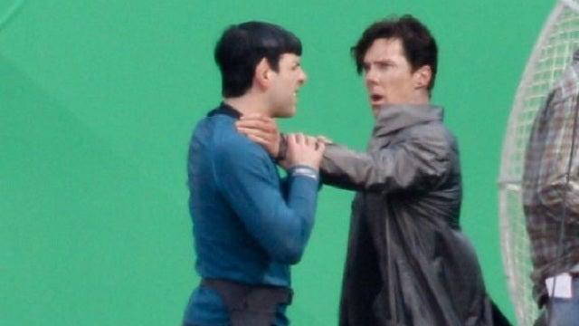 Did Karl Urban just reveal Benedict Cumberbatch's Star Trek villain?