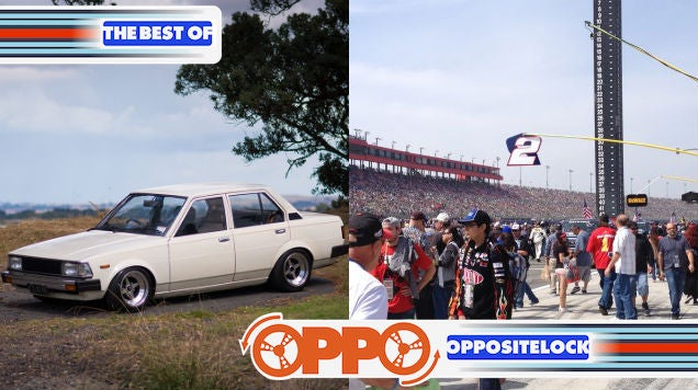 Joyride in a 240hp Corolla and Up Close and Personal at a NASCAR Race