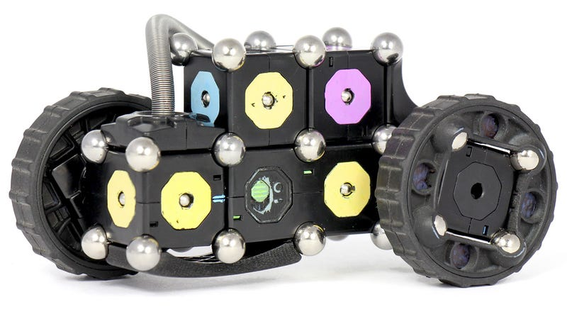 Steel Spheres Give These Magnetic Building Block Robots Even More Life