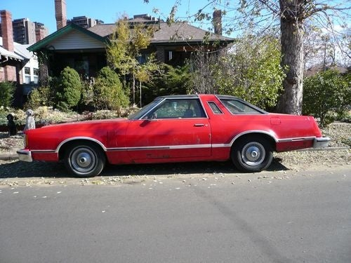 1978 Ford Thunderbird Down On The Denver Street