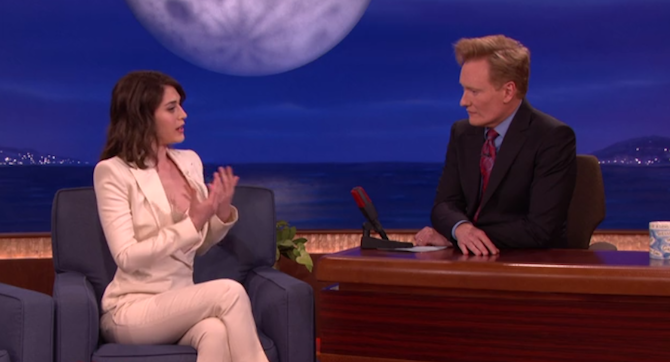 Watch Lizzy Caplan Describe Her First Sexy Masters of Sex Sex Scene