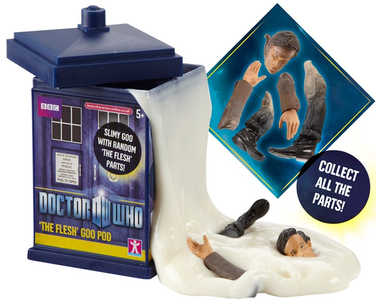 Is this the creepiest Doctor Who toy ever made?