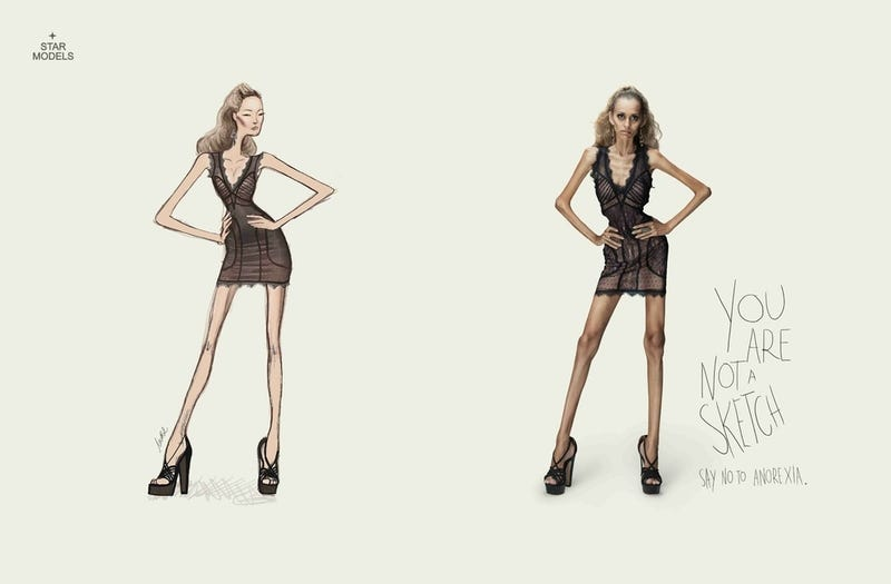 'Say No to Anorexia' Ads Pass the Buck and Miss the Point