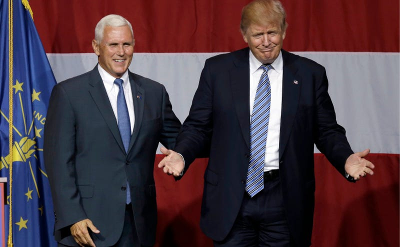 Donald Trump Announces That He Is Definitely For Sure Picking Indiana Governor Mike Pence as His Vice Presidential Nominee
