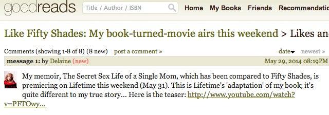 Lifetime Reveals The Secret Sex Life of A Single Mom