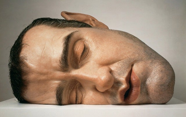 These hyperrealistic sculptures of giants must be seen to be believed