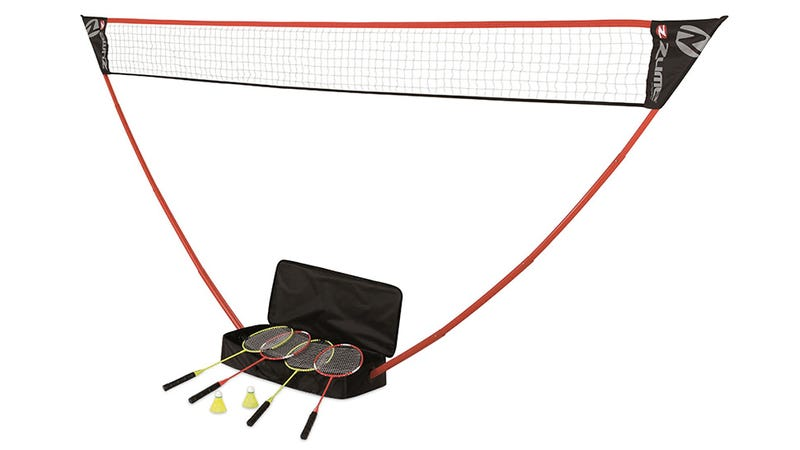 Instant Badminton Court: Just Add a Lazy Sunday Afternoon