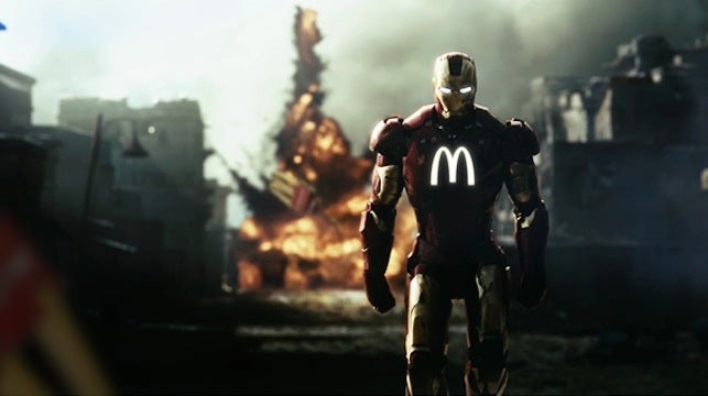 What if corporations sponsored superheroes?