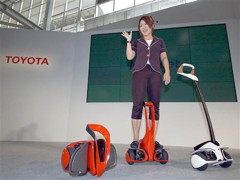 Segway-Killing Toyota Winglet Enters Production Priced At $3,500