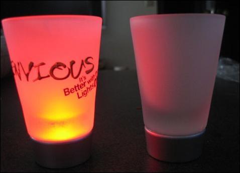 Envious Illuminated Shot Glasses
