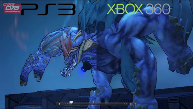 Let This Borderlands 2 Comparison Video Help You Decide Between the Xbox 360 and PS3 Versions