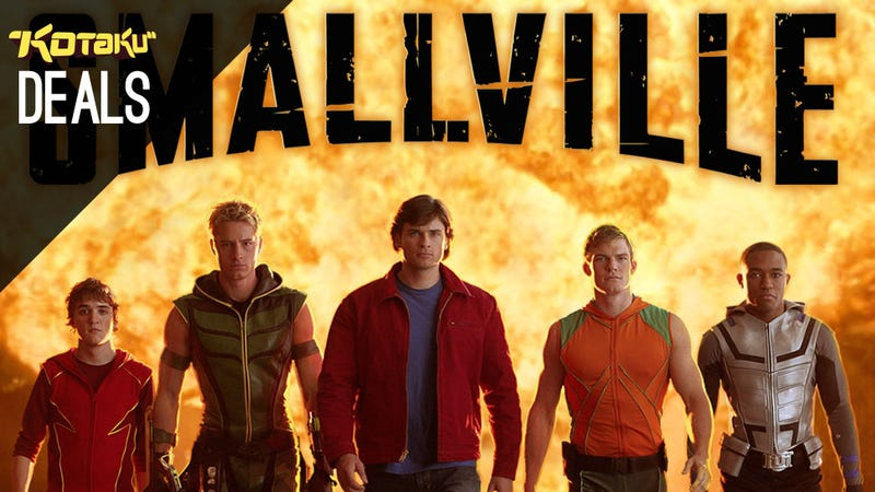 PSN and LIVE Updates, PS4 and PS4 Camera In Stock, Smallville [Deals]