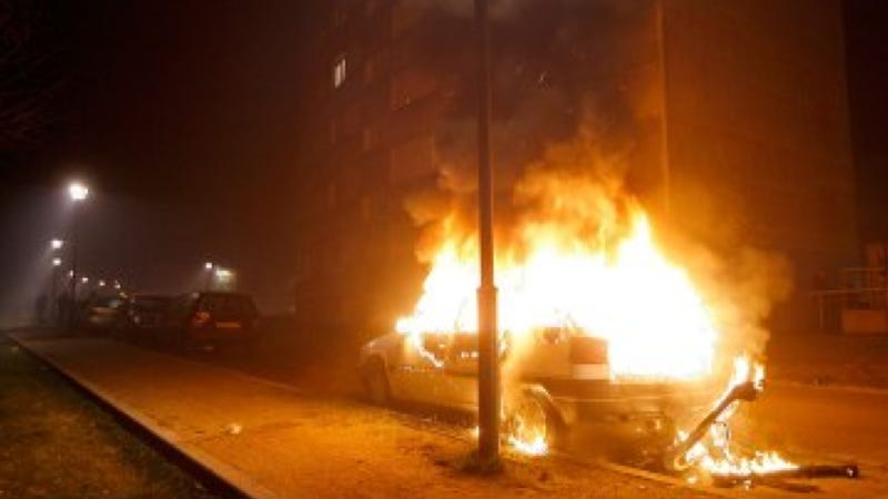Torching Cars Continues To Be France's Hottest New Year's Eve Tradition
