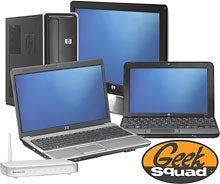 Dealzmodo: HP Desktop, Monitor, Laptop, Netbook and Router, all for $1200 (!)