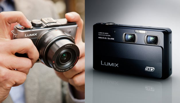 Panasonic's GX1 Micro Four Thirds and 3D-Shooting 3D1 Compact Cameras Unleashed