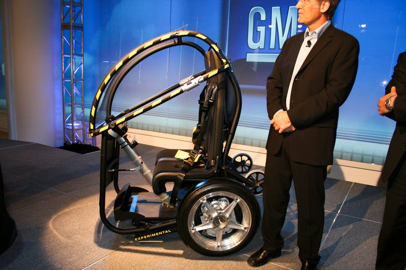 Segway, GM Project P.U.M.A.: Live Reveal!
