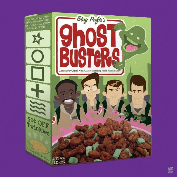 Would you eat Ghostbusters cereal, made with real ghosts?