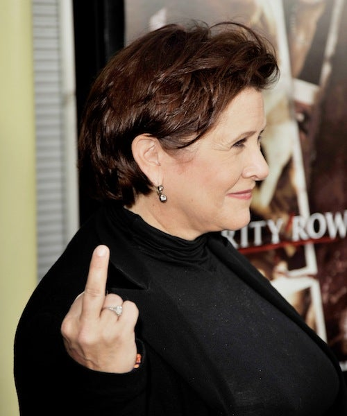 "Carrie Fisher: ""I'm Not As Cooperative As You Might Want A Woman To Be"""
