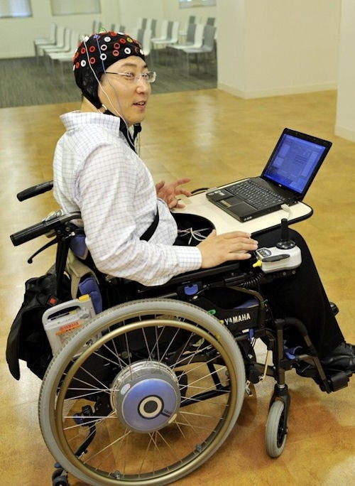 Toyota Scientists Succeed in Thought-Controlled Wheelchair